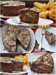 Untitled44 Just Desserts, Delicious Desserts, Sweet Recipes, Cake Recipes, Good Food, Yummy Food, Savoury Dishes, Homemade Cakes, Chocolate Recipes