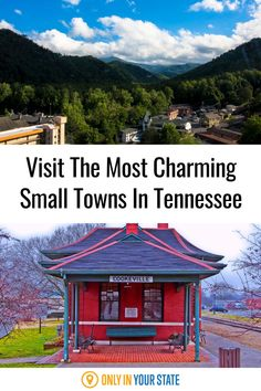 Find the perfect weekend getaway in Tennessee at one of these charming small towns. Enjoy beautiful parks and hiking trails, local museums and history, great dining, and some of the best downtowns in the state. Gatlinburg, Cookeville, Columbia, and other gems are featured. Tennessee Attractions, Tennessee Vacation, Best States To Visit, Best Bucket List, Local Museums, Whitewater Rafting, Hidden Beach, Beautiful Park, Summer Travel