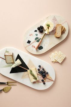 We love cheese as much as the next person, but the dairy product has been receiving some serious royal treatment as of late. Like, are these cheese boards or art pieces? Marble Cheese Board, Cheese Boards, Marble Board, Trending On Pinterest, Anthropologie Home, Anthropologie Instagram, Ceramic Shop, Black Sesame Ice Cream, Wine Cheese