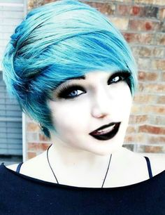 (F.c. random blue haired girls) Hey im Timber....yes my name is weird but whateves. Im 18 and single. I have an adictive self harm issue. Im pretty shy. I like to draw and listen to music. So yea thats me...come and say hai if ya like.