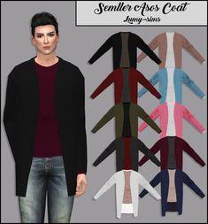 LumySims: Semller Asos Coat • Sims 4 Downloads