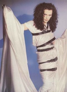 Classic Pete Burns from Dead or Alive