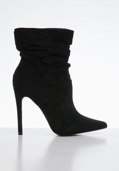 Bossin ankle boot - black Public Desire Boots | Superbalist.com Shoe Shop, Buy Shoes, Black Ankle Boots, Designer Shoes, Amazing Women, Stiletto Heels, Converse, Footwear, Lady
