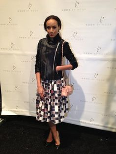 Selita Ebanks @ Noon By Noor Fall 2013 fashion show #NYFW #mbfashionweek