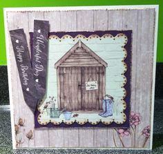 Craftwork Cards: Potting Shed II