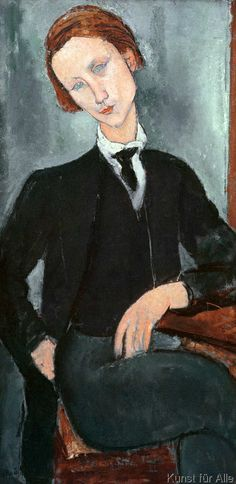 Amedeo Modigliani - Baranovsky, 1918