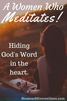 God tells us to meditate on His Word. We read the Bible, but can neglect meditation .Reading is eating, and meditation is digesting the Word. Psalm 5 3, Psalms, Christian Living, Christian Faith, Morning Devotion, Attributes Of God, Our Father In Heaven, Think Deeply, Lord Is My Shepherd