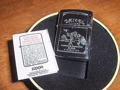 Vintage Zippo Camel Filters Cigarette Lighter New in Collector Tin Missing Lid