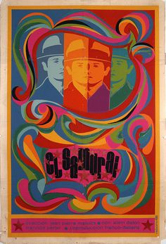 Vintage Cuban movie poster Cuban film posters are produced by ICAIC: Instituto Cubano de Artes Industrias Cinematografia in their Taller Seriagrafia (silkscreen workshop). The majority are silkscreens in 20x30inch (52x76cm) format.