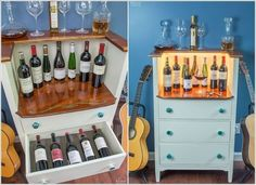 10 Amazing Ways Store Wine Bottles in Drawers
