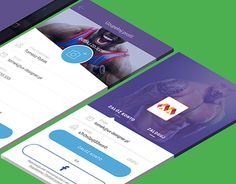 """Popatrz na ten projekt w @Behance: """"Metric Gym - mobile app"""" https://www.behance.net/gallery/30152625/Metric-Gym-mobile-app"""