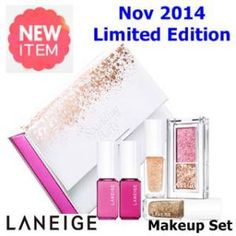 New November 2014 US$39.9 [ Laneige ] Holiday Limited Edition Sparkling Makeup Collection(New2014), Korean Best Cosmetics, Free Shipping