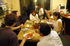 """Why Scruffy Hospitality Creates Space for Friendship (stop treating friends as """"company"""" and only having them over when your house is at it's best)."""
