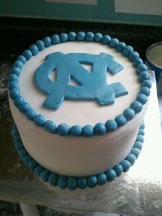 UNC cake I made.