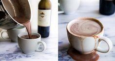Varm choklad med rödvin – så enkelt gör du höstens trendigaste dryck