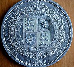 Great Britain Half Crown 1887