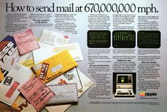 40 Vintage Computer Ads of Yesteryears