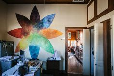 Jen's office. Photo by Edgar Valdes.
