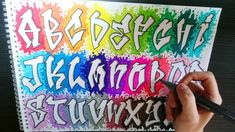 Graffiti Alphabet Styles, Graffiti Lettering Alphabet, Graffiti Words, Graffiti Doodles, Graffiti Tattoo, Best Graffiti, Graffiti Wall Art, Graffiti Drawing, Street Art Graffiti