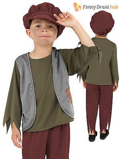 Age 4-9 boys kids victorian #peasant orphan oliver fancy dress #outfit #costume, View more on the LINK: http://www.zeppy.io/product/gb/2/181663802455/
