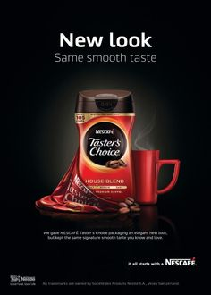 Reader's Digest: Nescafé Taster's Choice Home Blend New Redesign Print Ad (December 2014/January 2015)