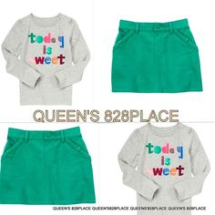 New Crazy 8 Zebra Stripe Heart Tee and Skirt Set Size 4 5-6 7-8 10-12 14 NWT
