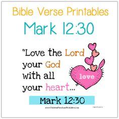 Valentine's Day Scripture Memory for Preschoolers