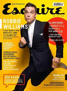 robbie ( #esquire #esquiremag #fashion #style #robbiewilliams ) | H U M Λ N™ | нυмanΛCOUSTICS™ | н2TV™