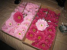 DIY Bouquets and Boutonnieres-