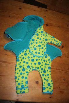 kostenloses Schnittmuster und Nähanleitung für Baby Overall - Klettverschluß - ohne Reißverschluß - gratis Schnittmuster Baby Overall - f...