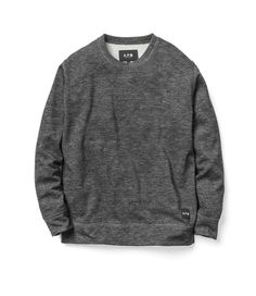 APC x Carhartt sweatshirt. Heathered Charcoal.