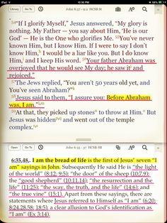 JESUS IS GOD MANIFESTED IN THE FLESH (John 1:1; John 1:4; 2 Corinthians 5:19; Colossians 2:9; 1 Timothy 3:16; Isaiah 9:6; Matthew 1:20-23; John 1:18; John 8:57-58; John 10:30; John 14:8-10; Philippians 2:5-8; Colossians 1:15; Colossians 1:19.) Colossians 1 15, Philippians 2, 1st Timothy 3, Isaiah 9 6, Apostolic Pentecostal, Matthew 1, John 8, Bible Study Tools, Son Of God