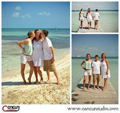 Cancun beach photography www.cancunstudios.com cancun beach family sessions photographer