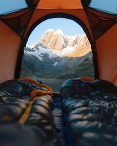 Waking up on Laguna Mitucocha under the watch of Mt. Runtuy. Memorable morning in the Andes...
