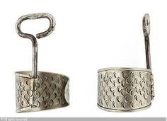 The Sardine bracelet Meret Oppenheim 1913-1985 (Switzerland)