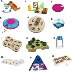Puzzle Toys for Cats  http://www.floppycats.com/puzzle-toys-for-cats.html