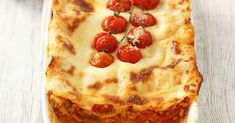 Lasagne Rezept   EAT SMARTER Bolognese, Eat Smarter, Quiche, Pancakes, Pie, Pasta, Breakfast, Desserts, Food