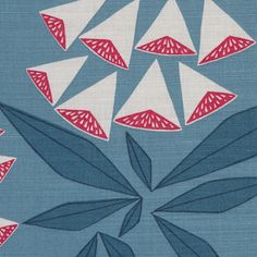 Screen-printed in the UK. Suitable for upholstery, drape and soft furnishings.