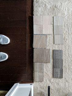 Affordable Vinyl Plank Flooring Reviews From a Homeowner#vinylplankflooring #luxuryvinylplank Vinyl Wood Flooring, Luxury Vinyl Flooring, Wood Vinyl, Luxury Vinyl Plank, Laminate Flooring, Vinyl Floor Covering, Basement Living Rooms, Concrete Patio, Flooring Options