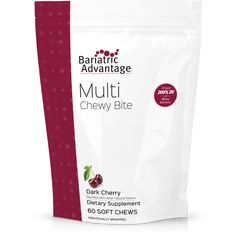 Bariatric Advantage Multivitamin Chewy Bites - Available in 4 Flavors! Proper Nutrition, Nutrition Tips, Holistic Nutrition, Healthy Nutrition, Nutrition Tracker, Nutrition Classes, Complete Nutrition, Nutrition Education, Black Grapes