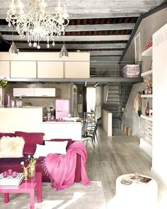 The Ultimate Industrial Chic Apartment | Fashion
