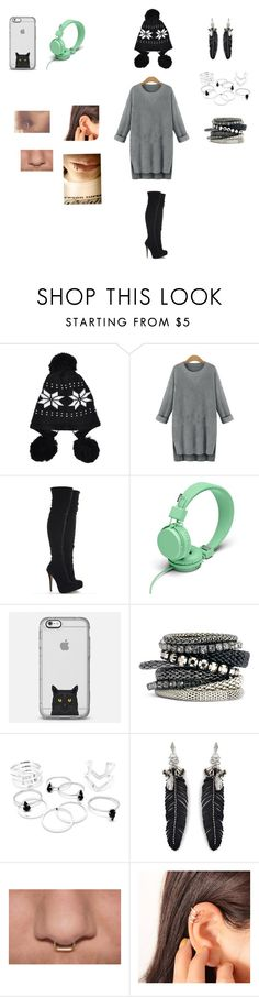 """Im so fresh man"" by dudaalm ❤ liked on Polyvore featuring beauty, Urbanears, Casetify, H&M and Rebecca Minkoff"