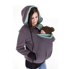 Baby Carrier Kangaroo Coat