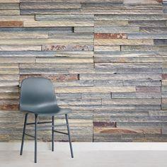 wall Murals Colour - Long Colourful Brick Wallpaper Wall Mural MuralsWallpaper co uk. Brick Wallpaper Mural, Wall Wallpaper, Trinity House, S Brick, Entrance Ways, Brickwork, Concrete Wall, Showcase Design, Exposed Brick