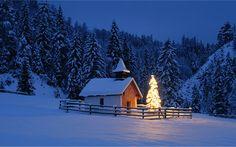 Meet in Winter wallpaper 10 ? Landscape Wallpapers - Free ...
