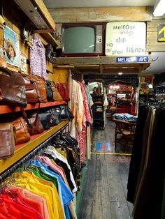 Tolle Secondhand & Vintage Shops in Florenz!