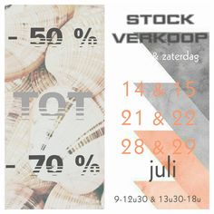 Stockverkoop Fienesse Bloemen en Decoratie -- Ichtegem -- 14/07-29/07