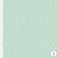 Mint Triangle by Elvelyckan Design - Euro Designer Knit - Organic Cotton Knit