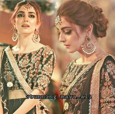 Brides by sajida Lehenga Hairstyles, Indian Wedding Hairstyles, Bridal Braids, Bridal Hairdo, Pakistani Bridal Makeup, Pakistani Wedding Dresses, Walima Dress, Bridal Outfits, Bridal Looks