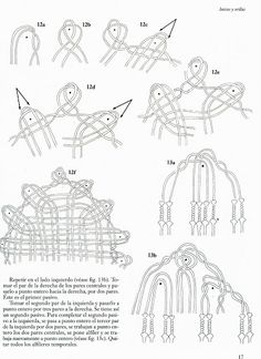 Practical Skills in Bobbin Lace - Bridget Cook Romanian Lace, Bobbin Lacemaking, Bobbin Lace Patterns, Lace Heart, Victorian Lace, Lace Jewelry, Diy Headband, Needle Lace, Lace Embroidery